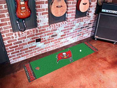 Tampa Bay Buccaneers Golf Putting Mat