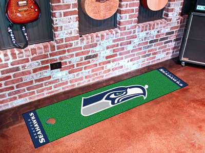 Seattle Seahawks Golf Putting Mat
