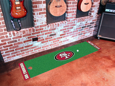 San Francisco 49ers Golf Putting Mat
