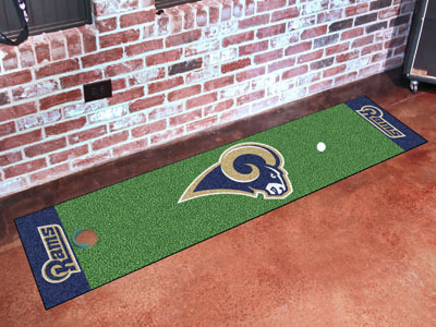 Los Angeles Rams Golf Putting Mat
