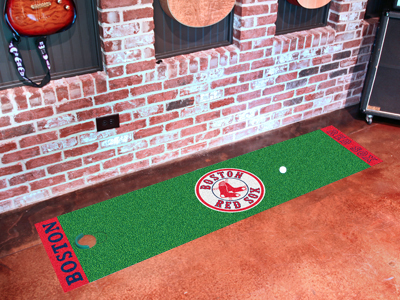 Boston Red Sox Golf Putting Mat
