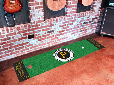 Pittsburgh Pirates Golf Putting Mat