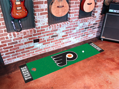 Philadelphia Flyers Golf Putting Mat
