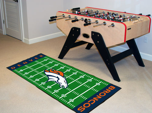 Denver Broncos Runner Mat