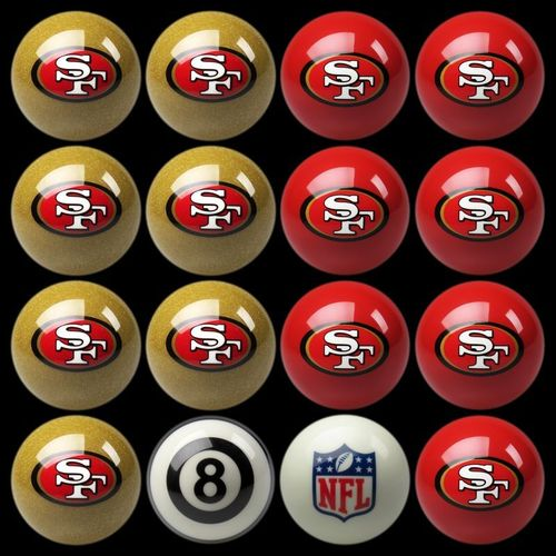 Play 8-Ball with the San Francisco 49ers