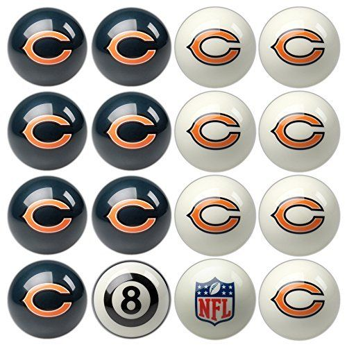 Play 8-Ball with the Chicago Bears