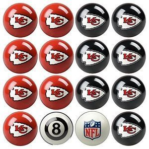 Play 8-Ball with the Kansas City Chiefs