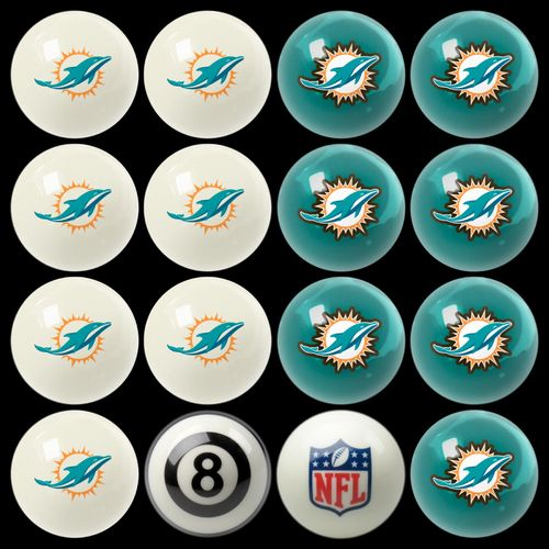 Play 8-Ball with the Miami Dolphins