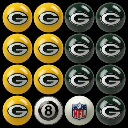 Play 8-Ball with the Green Bay Packers