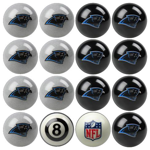 Play 8-Ball with the Carolina Panthers