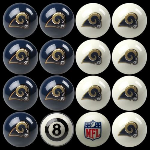 Play 8-Ball with the Los Angeles Rams