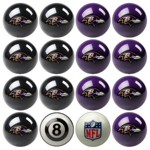 Play 8-Ball with the Baltimore Ravens