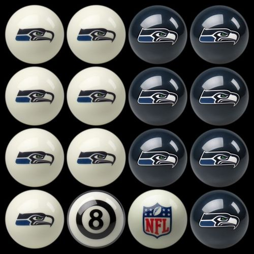 Play 8-ball with the Seattle Seahawks