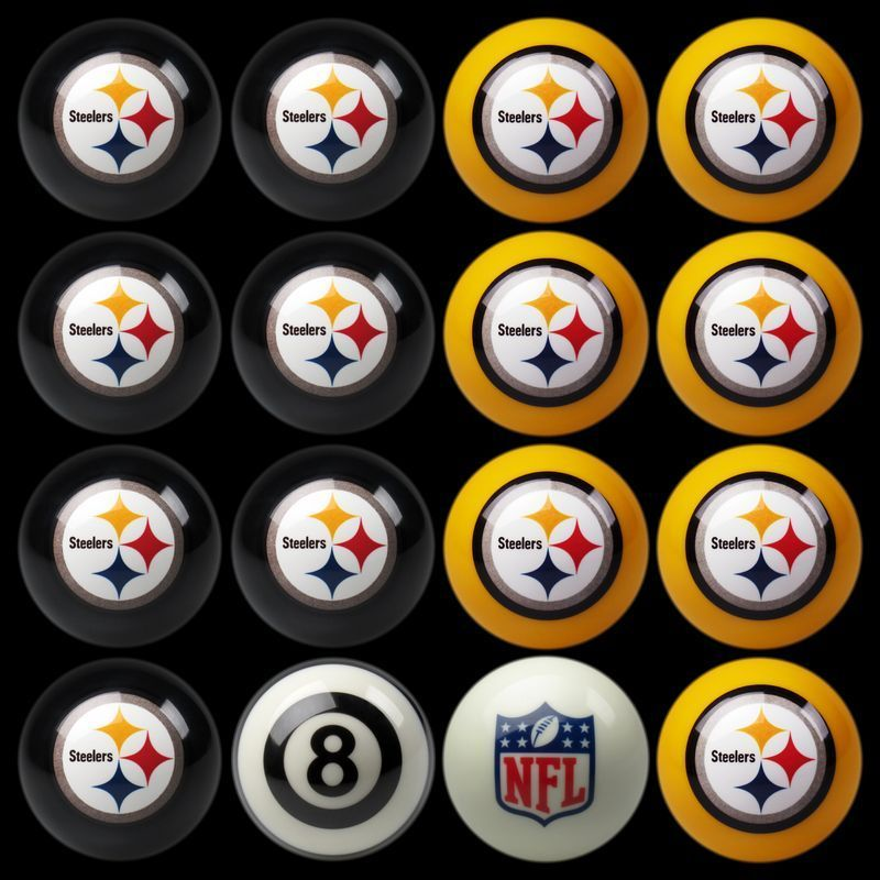 Play 8 Ball With The Pittsburgh Steelers