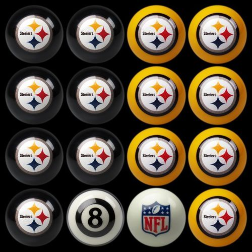 Play 8-Ball with the Pittsburgh Steelers