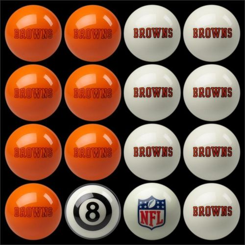 Play 8-Ball with the Cleveland Browns