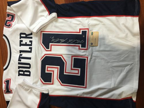 Malcolm Butler New England Patriots Autograph Jersey