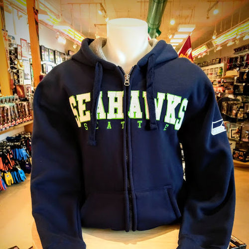 Seattle Seahawks Fleece Lined Hoodie
