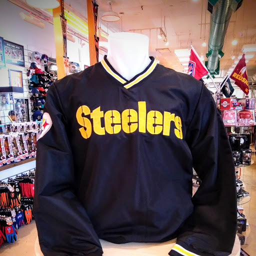 low priced 5ccd0 d8984 Pittsburgh Steelers V Neck Pullover Jacket