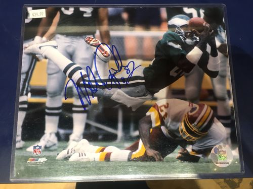 Mike Quick Eagles Autographed photo