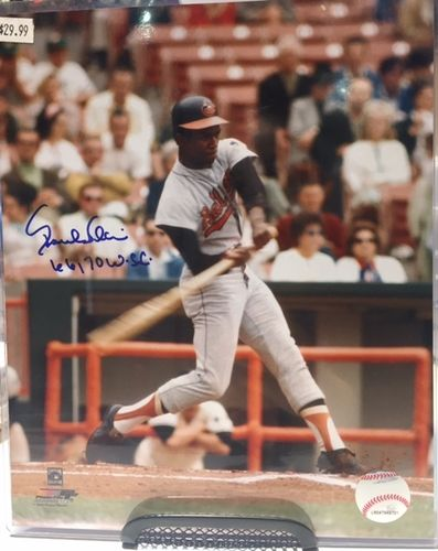 Baltimore Orioles Paul Blair Autograph 8x10 Photo