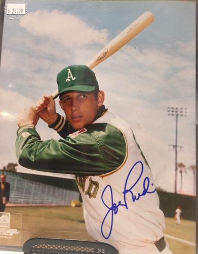 Oakland Athletics Joe Rudi Autograph 8x10 Photo