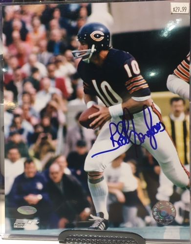 Chicago Bears Bobby Douglas Autograph 8x10 Photo