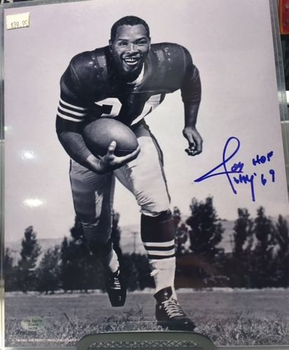 San Francisco 49'ers Joe Perry Autograph 8x10 Photo