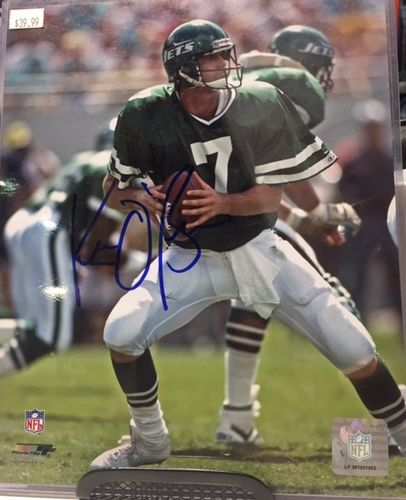 New York Jets Ken O'Brian Autograph 8x10 Photo