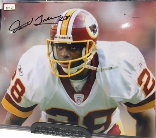 Washington Redskins Darrell Green Autograph 8x10 Photo