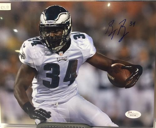 Philadelphia Eagles Bryce Brown Autograph 8x10 Photo