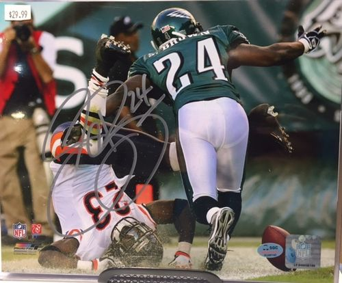 Philadelphia Eagles Sheldon Brown Autograph 8x10 Photo