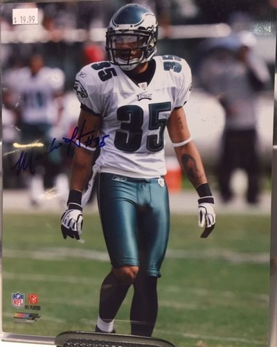 Philadelphia Eagles Macho Harris Autograph 8x10 Photo