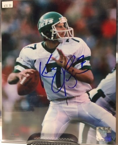 New York Jets Ken O'Brien Autograph 8x10 Photo