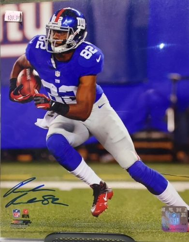 New York Giants Ruben Randle Autograph 8x10 Photo