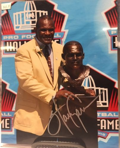 New York Giants Harry Carson Autograph 8x10 Photo