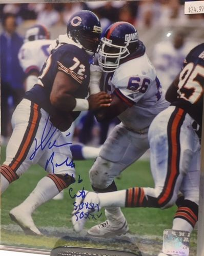 New York Giants William Roberts Autograph 8x10 Photo