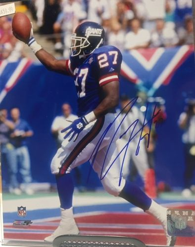 New York Giants Rodney Hampton Autograph 8x10 Photo