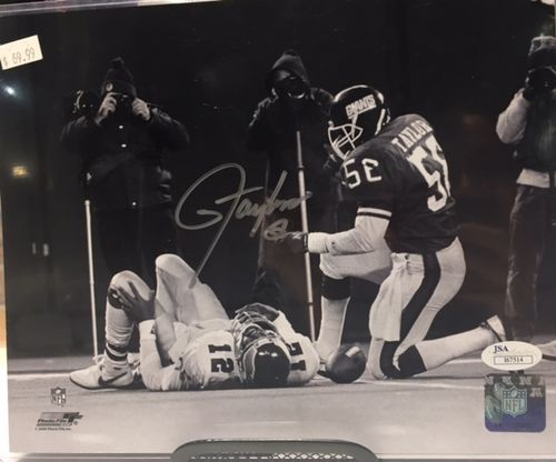 New York Giants Lawrence Taylor Autograph 8x10 Photo