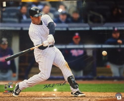 New York Yankees Mark Teixeira Autograph 16x20 Photo