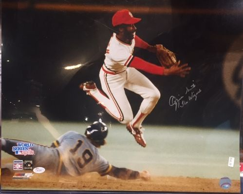 St. Louis Cardinals Ozzie Smith Autograph 16x20 Photo