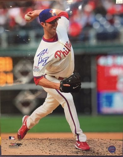 "Philadelphia Phillies James Anthony ""J. A."" Happ Autograph 16x20 Photo"