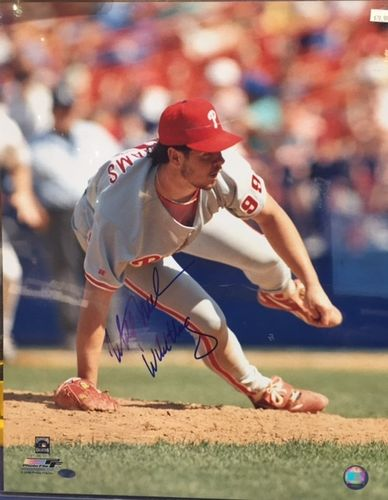 Philadelphia Phillies Mitch Williams Autograph 16x20 Photo