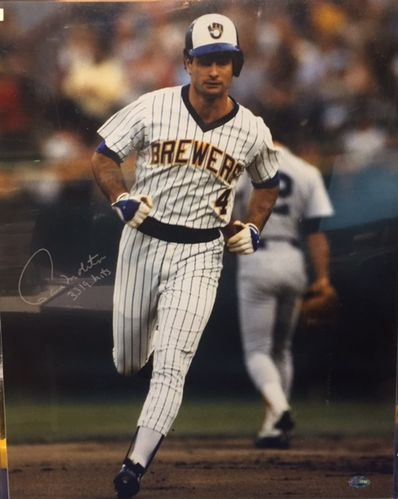 Milwaukee Brewers Paul Molitor Autograph 16x20 Photo
