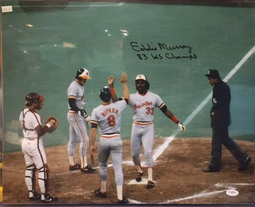 Baltimore Orioles Eddie Murray Autograph 16x20 Photo