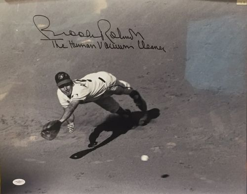 Baltimore Orioles Brooks Robinson Autograph 16x20 Photo
