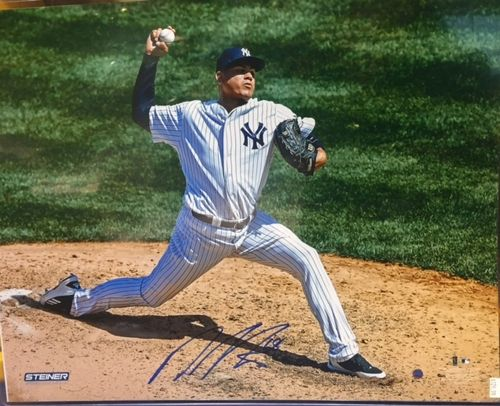 New York Yankees Dellin Betances Autograph 16x20 Photo