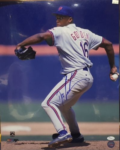 "New York Mets Dwight ""Doc"" Gooden Autograph 16x20 Photo"