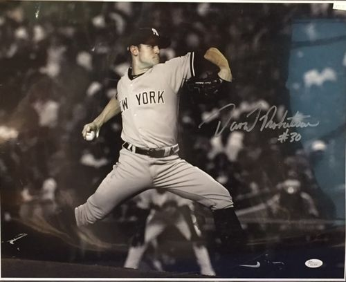 New York Yankees David Robertson Autograph 16x20 Photo
