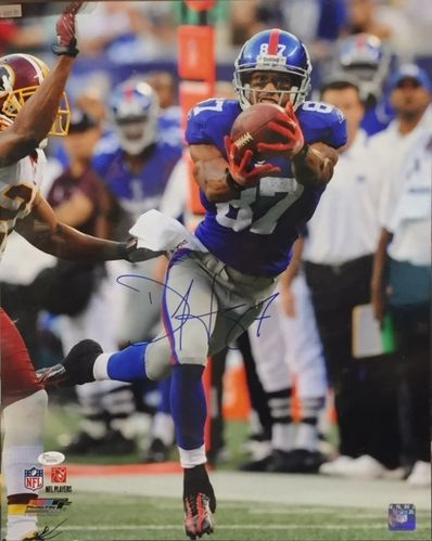 New York Giants Domenik Hixon Autograph 16x20 Photo